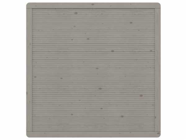 Sichtschutzzaun ARZAGO Rechteck grau