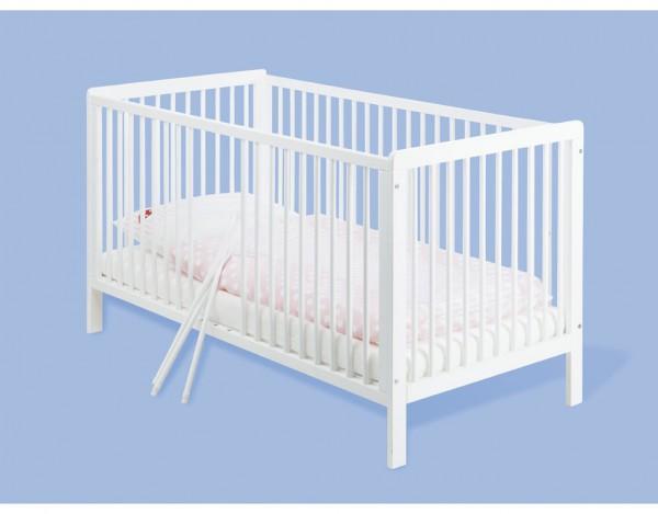 Kinderbett Lenny Kiefer, weiß lackiert