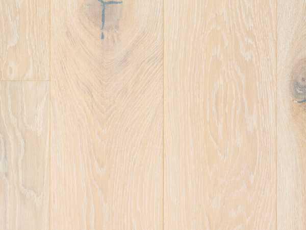 Massivholzdiele Eiche Rustikal weiß geölt