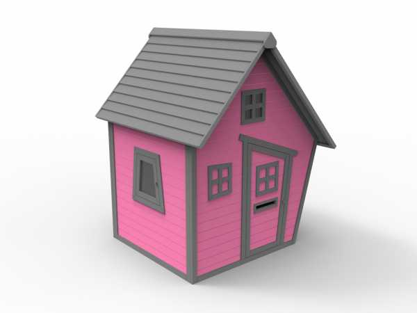 Spielhaus Kakadu 10 mm pink