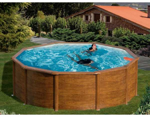 Poolset Feeling Holzoptik