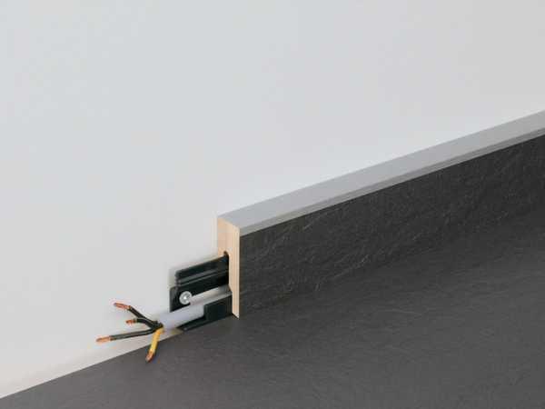 Sockelleiste NB 400 Hickory betongrau 6223 Nachbildung