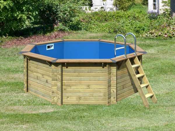 "Pool Holzpool SET ""Premium Modell 1 A"" inkl. Superior Ausstattung"