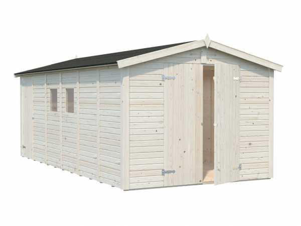 Gerätehaus Dan 14,2 m² 16 mm naturbelassen
