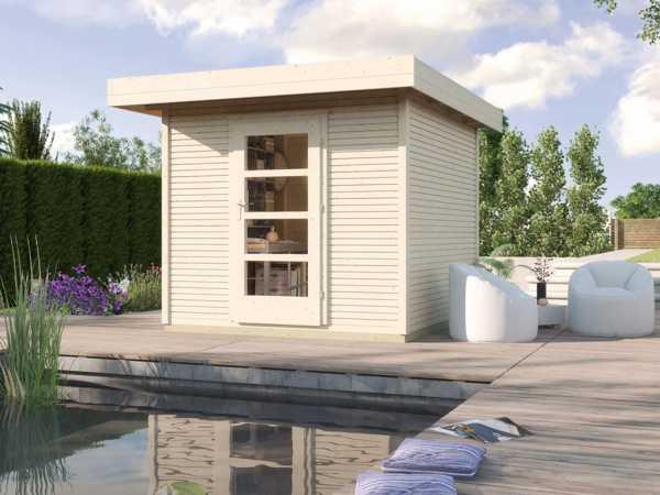 Gartenhaus Designhaus wekaLine 172 Gr. 1 28 mm naturbelassen