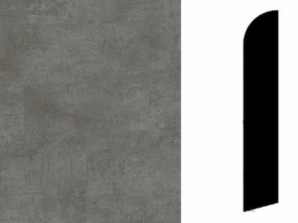 Sockelleiste Oxide Black Steel Dekor