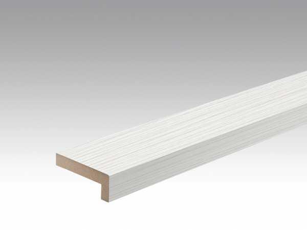 Wand- und Deckenleiste Streifer silber 4021 Dekor