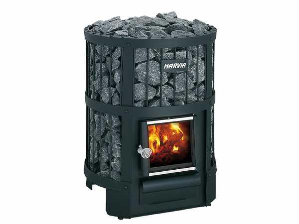 21 kW Saunaofen holzbeheizt