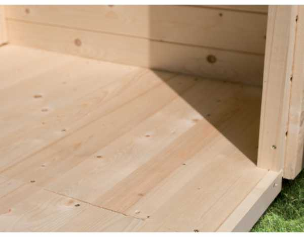 Fußboden passend für Sockelmaß 370 x 280 cm