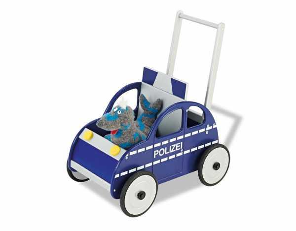 """Lauflernwagen Polizeiauto """"René"""""""