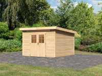 Gartenhaus Kerpen 4 CLASSIC 28 mm naturbelassen