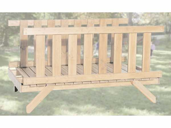 Brücke für Tabaluga Drachentürme Typ 816 naturbelassen