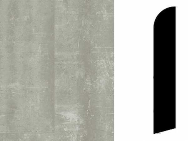 Sockelleiste Composite Warm Grey Dekor