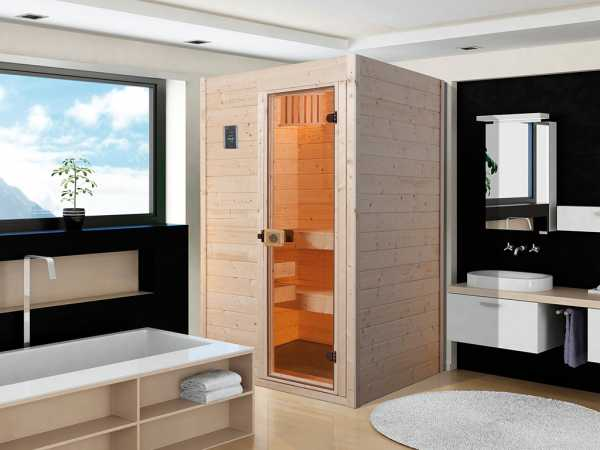 WE-Sauna Massiv. Valida 1 GT, ohne Ofen,