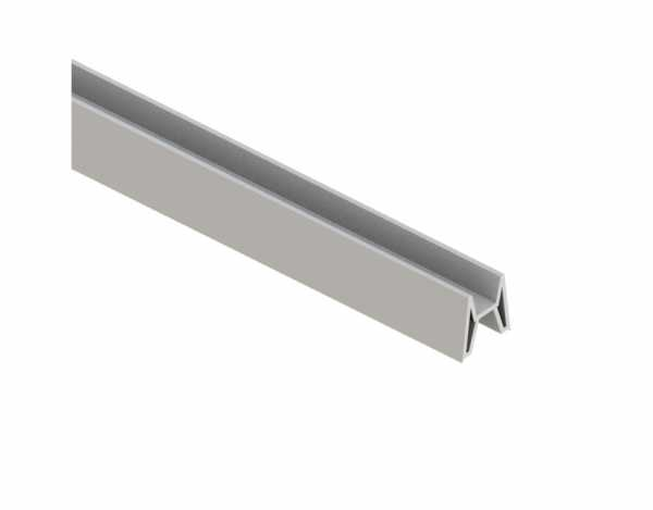 SYSTEM Dekoprofil-Adapter Farbe silber