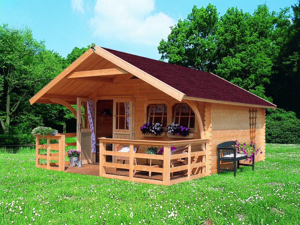 Karibu doderic 3 preisvergleich gartenhaus g nstig - Cabane jardin karibu besancon ...