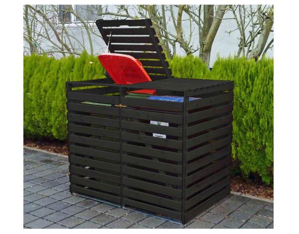 Mülltonnendoppelbox Vario V, anthrazit