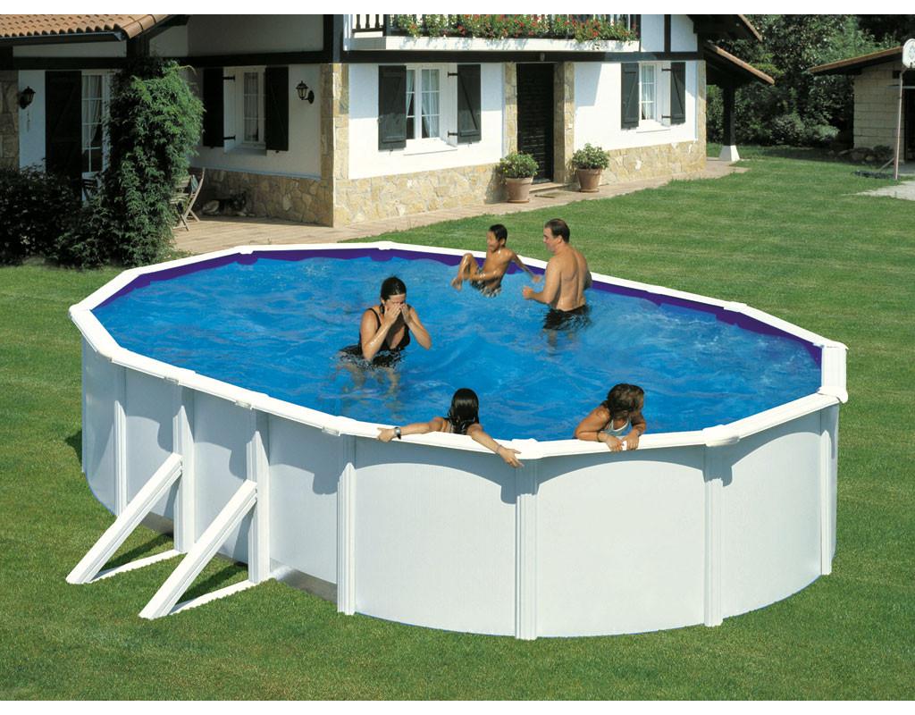 poolset feeling oval wei mit sandfilter my0041. Black Bedroom Furniture Sets. Home Design Ideas