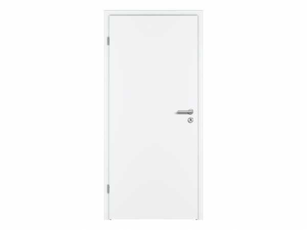 Zimmertür CPL Premium Weißlack RAL 9016, Röhrenspankern