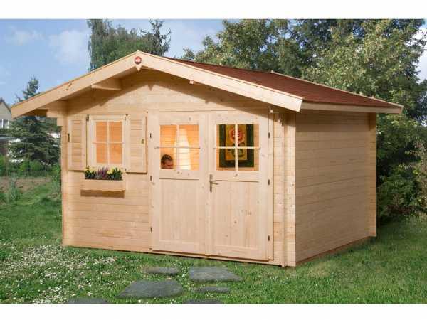 Gartenhaus 109 Gr. 2 28 mm naturbelassen