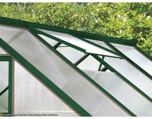 Gewächshaus Zubehör Alu-Dachfenster Calypso, grün