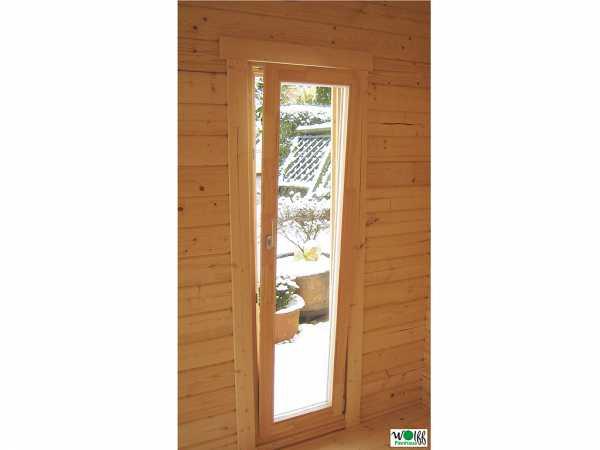"""Seitenfenster für Gartenhaus """"Langeoog + Helgoland 40 mm"""