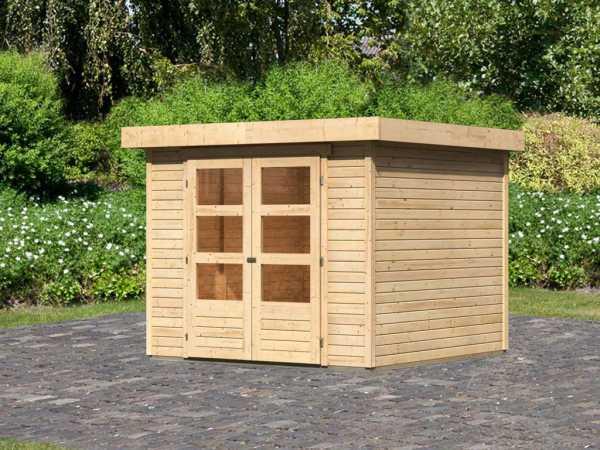 Gartenhaus Askola 3,5 19 mm naturbelassen