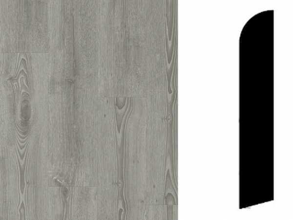 Sockelleiste Scandinavian Oak Dark Grey Dekor