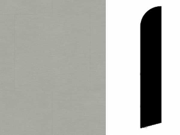 Sockelleiste Twine Medium Grey Dekor