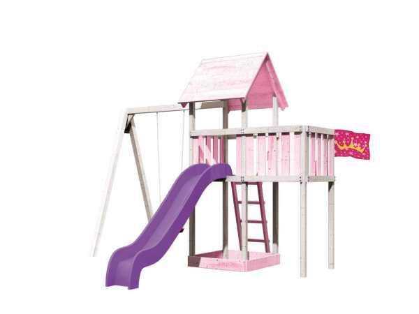 Spielturm Set Farbe Lotti naturbelassen