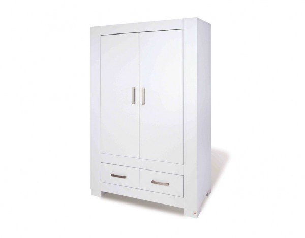kleiderschrank ice mdf wei lackiert pi0837. Black Bedroom Furniture Sets. Home Design Ideas
