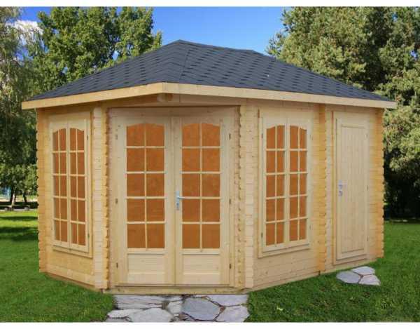 "Pavillon ""Melanie"" 10,7 m² naturbelassen"