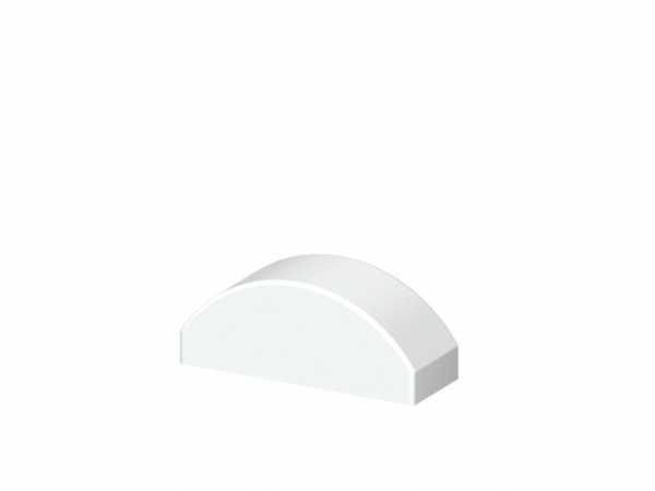 Dom-Aufsatz LONGLIFE CARA Weiß