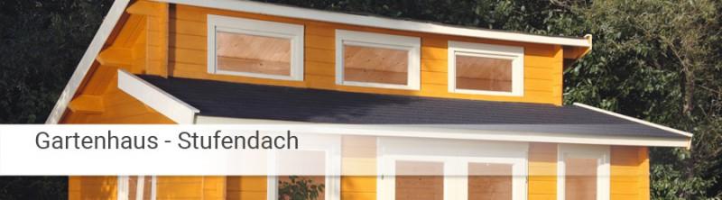 stufendach gartenhaus online kaufen holzprofi24. Black Bedroom Furniture Sets. Home Design Ideas