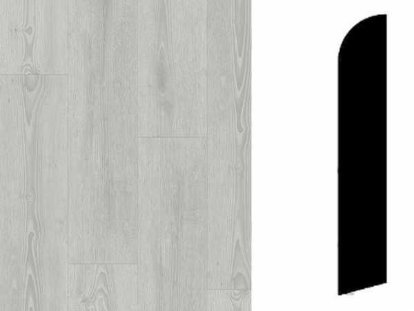 Sockelleiste Scandinavian Oak Medium Grey Dekor