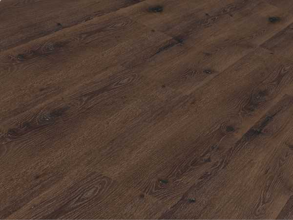 Vinylboden Räuchereiche Vinyl-Click auf HDF + Keramik Landhausdiele