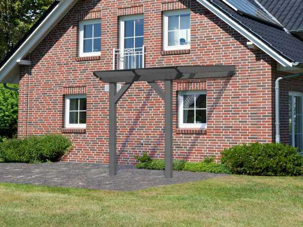 Terrassenüberdachung Modell 2 Silbergrau