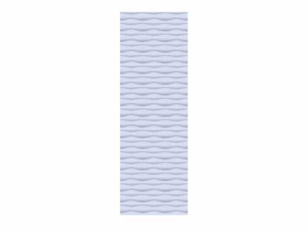 Sichtschutzzaun SYSTEM Flow Halbelement Gitter Silber