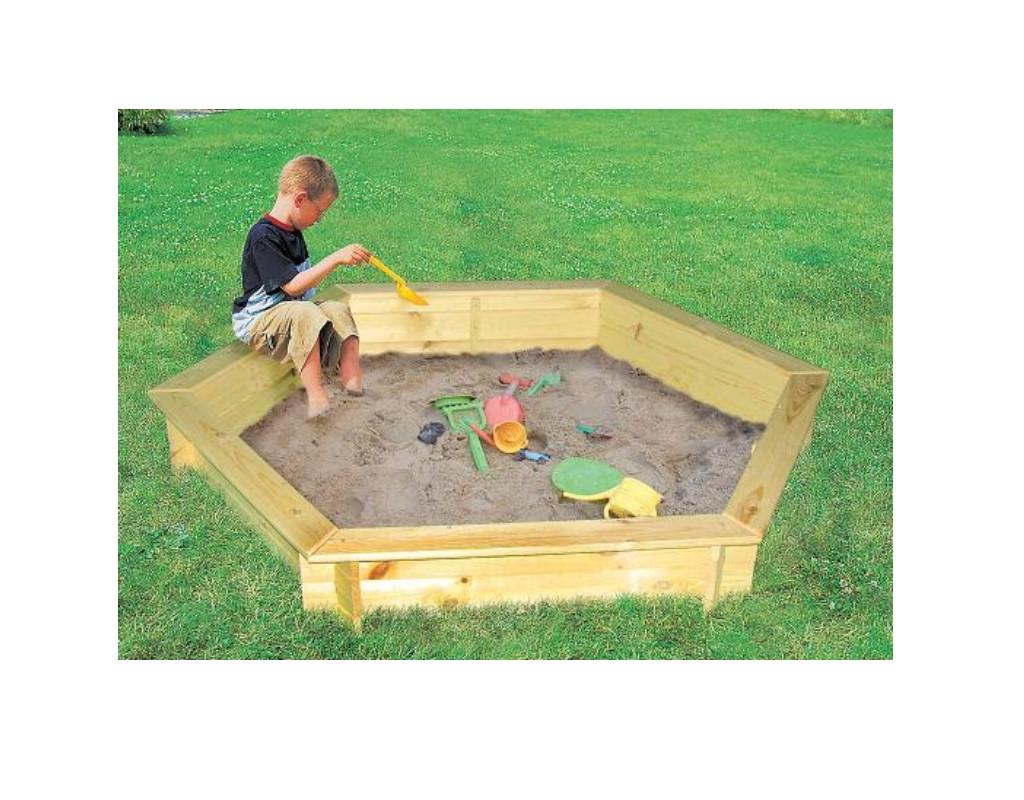 sandkasten fynja inkl wei er abdeckplane pr0387. Black Bedroom Furniture Sets. Home Design Ideas