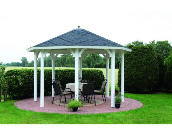 pavillon kreta 6 grundbauset naturbelassen wf0278. Black Bedroom Furniture Sets. Home Design Ideas