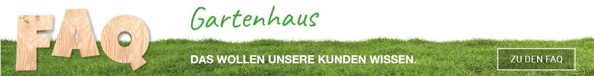 Gartenhaus FAQ