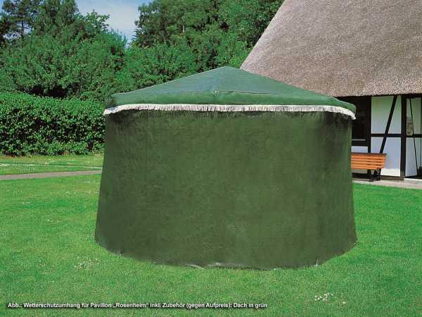 wetterschutzumhang f r pavillon rosenheim pavillon zubeh r holzpavillon garten holzprofi24. Black Bedroom Furniture Sets. Home Design Ideas