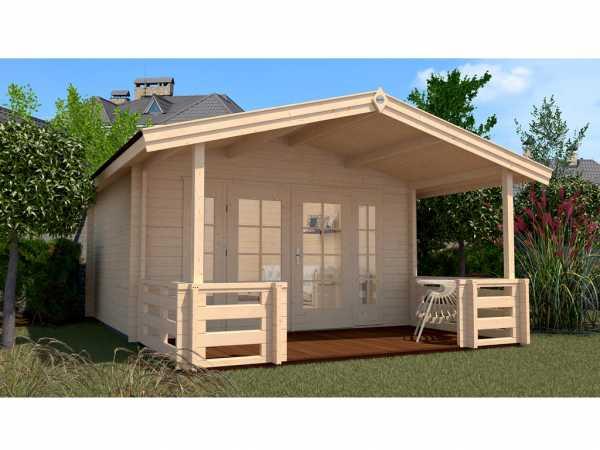 Gartenhaus 137 B Gr. 2 45 mm naturbelassen