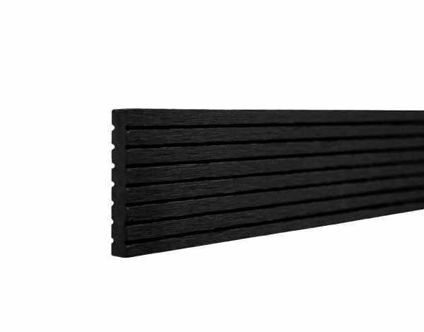 Abschlussprofil Artwood schwarz