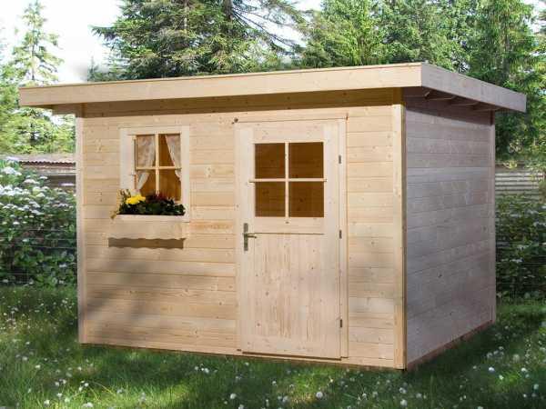 Gartenhaus 170 Gr. 3 28 mm naturbelassen