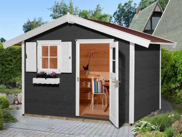 Gartenhaus 123 Gr. 3 anthrazit