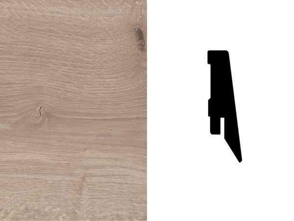 Sockelleiste Eiche Ashford graubraun Dekor Profil SKL 60