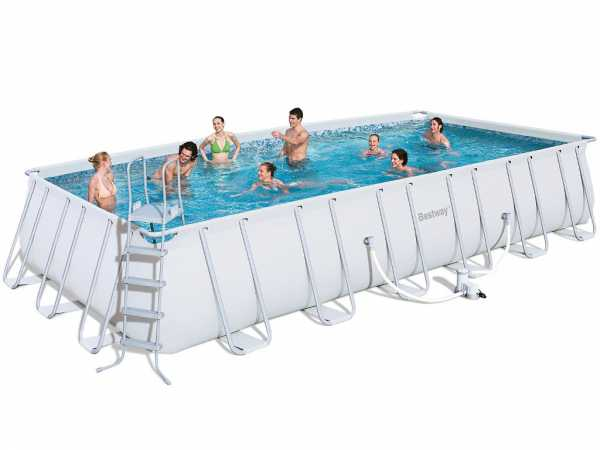 frame pool power steel set aufstellpool pool garten holzprofi24. Black Bedroom Furniture Sets. Home Design Ideas