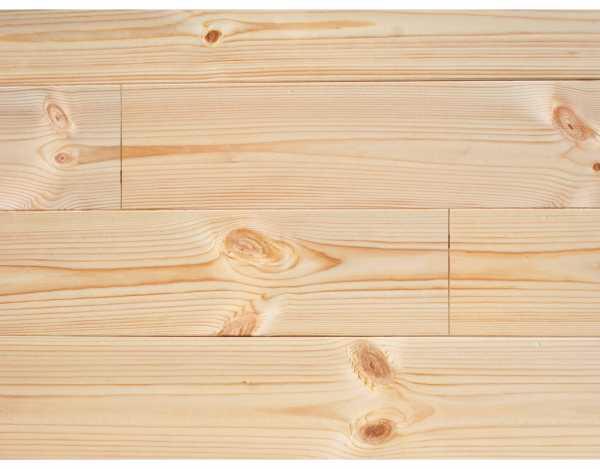 Massivholzdiele Fichte B-Sortierung naturbelassen