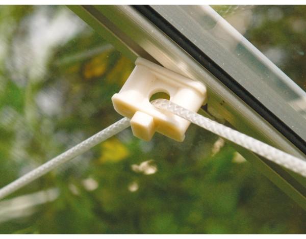 Gewächshaus Zubehör Pflanzenhalter, um Befestigungspunkte an Aluprofilen zu schaffen